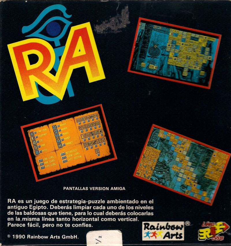 The Curse of RA DOS Back Cover