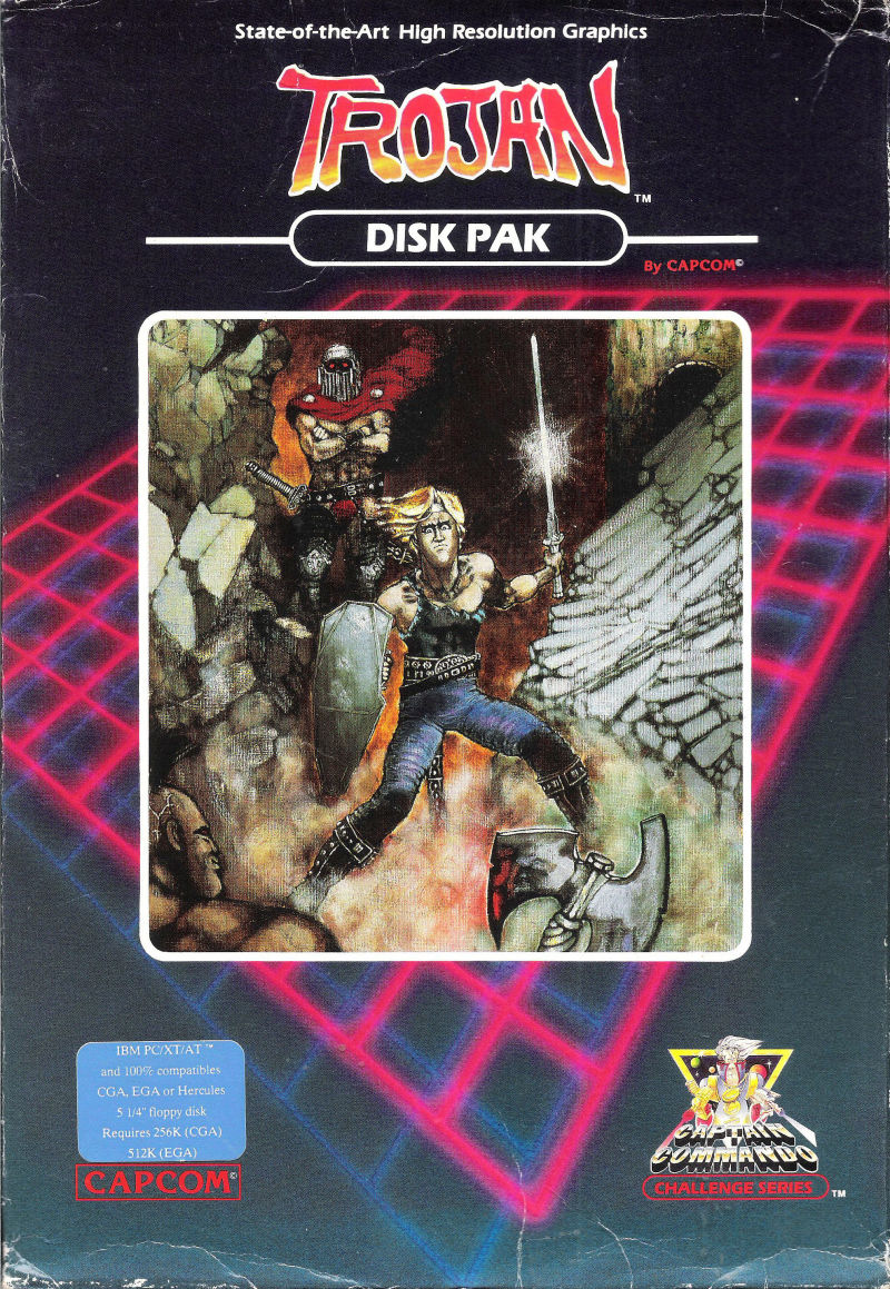 Trojan DOS Front Cover