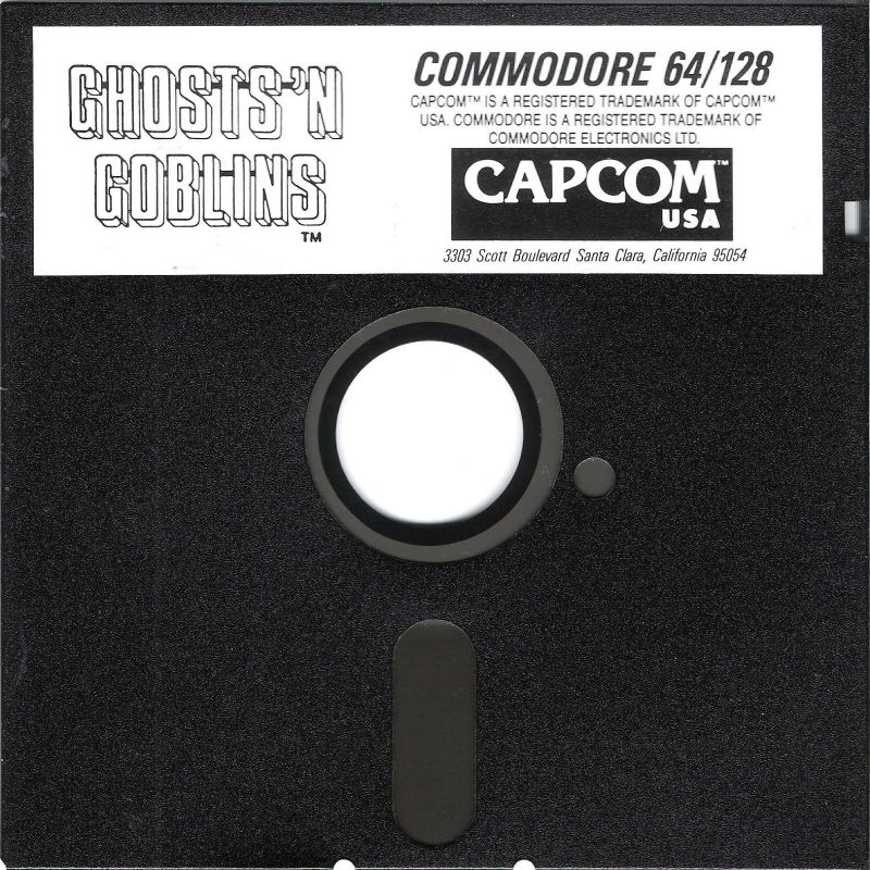 Ghosts 'N Goblins Commodore 64 Media Commodore 64 disk