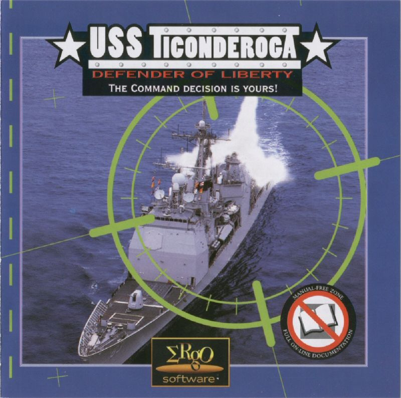 USS Ticonderoga: Life and Death on the High Seas DOS Other Jewel Case Front