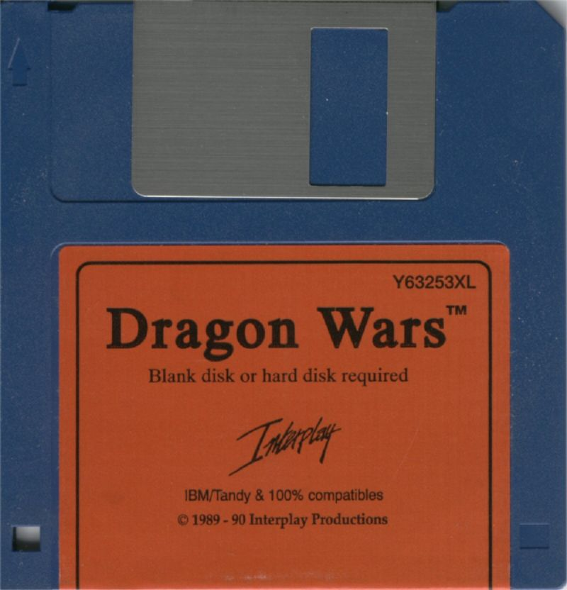 Dragon Wars DOS Media 1/1
