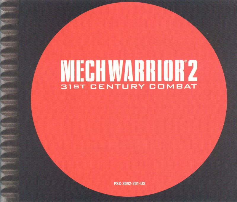 MechWarrior 2: 31st Century Combat PlayStation Inside Cover