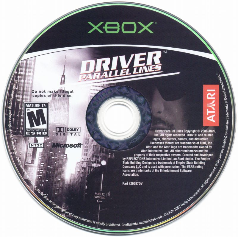 Driver: Parallel Lines Xbox Media