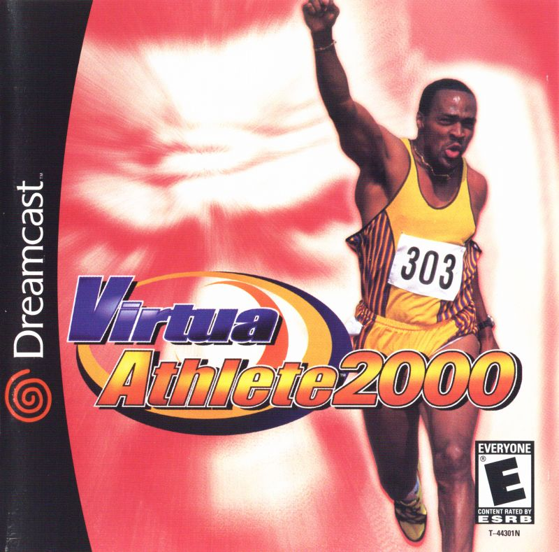 Virtua Athlete 2000 Dreamcast Front Cover