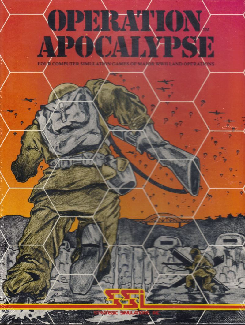 Operation Apocalypse Apple II Front Cover