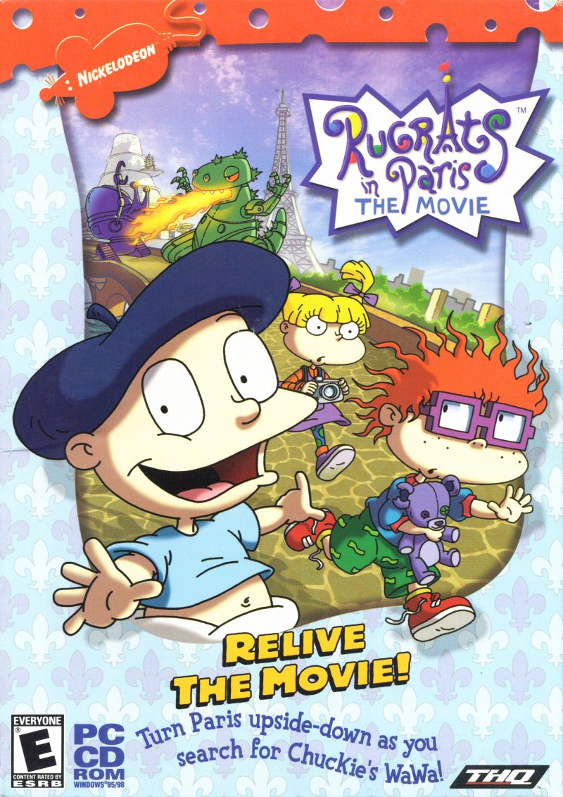 Rugrats in Paris: The Movie Windows Front Cover