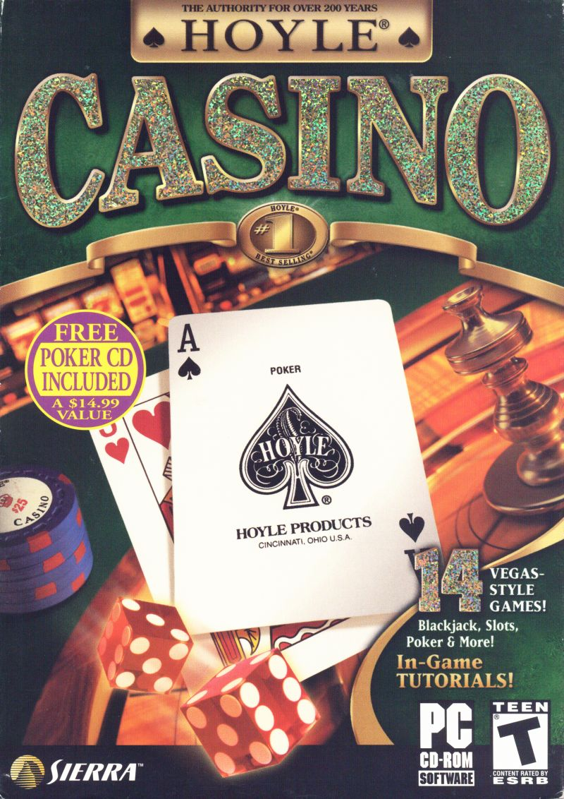Hoyle Casino 2004 Windows Front Cover
