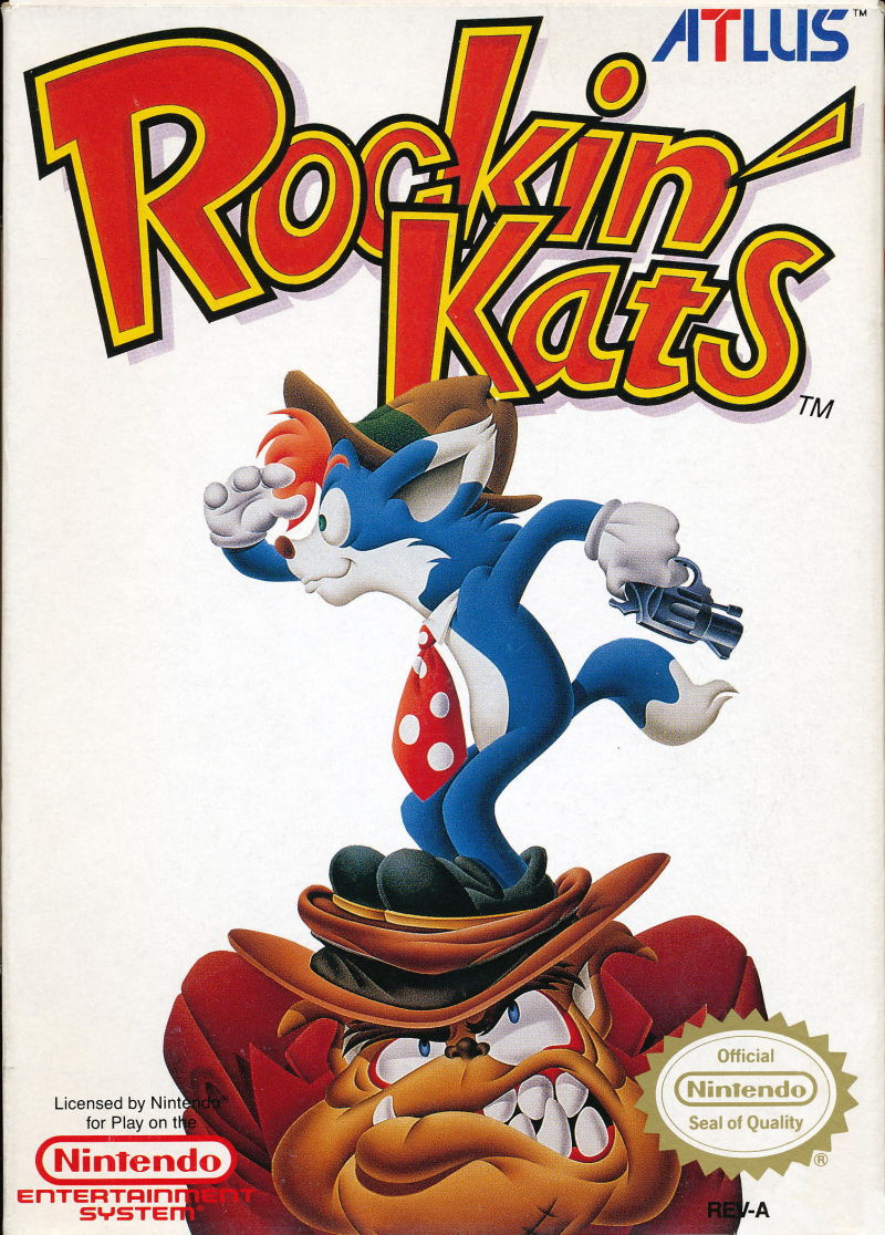 Rockin' Kats NES Front Cover