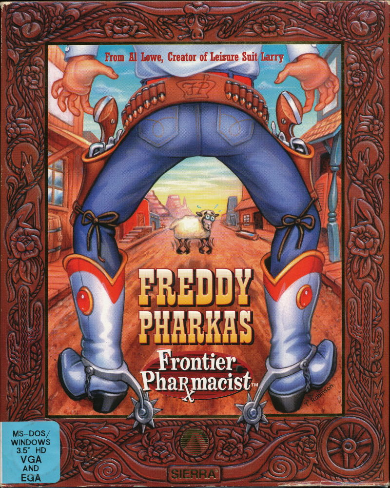 Freddy Pharkas: Frontier Pharmacist DOS Front Cover