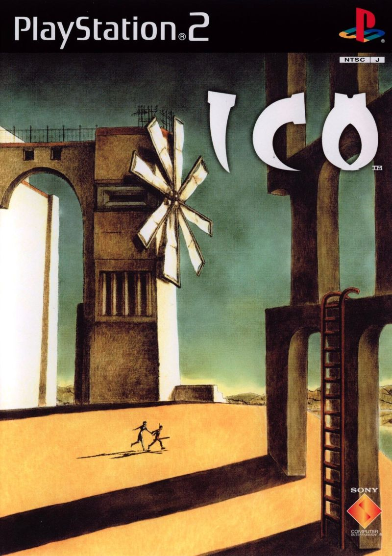 ICO PlayStation 2 Front Cover
