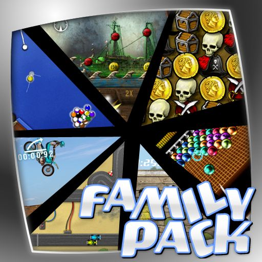 Zeebo Family Pack iPad Front Cover