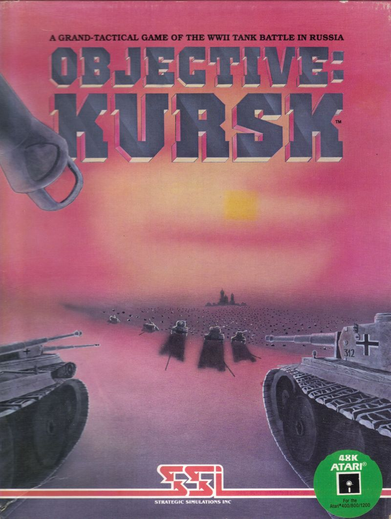 Objective: Kursk Atari 8-bit Front Cover