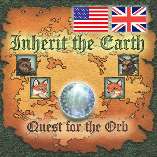 Inherit the Earth: Quest for the Orb iPhone Front Cover