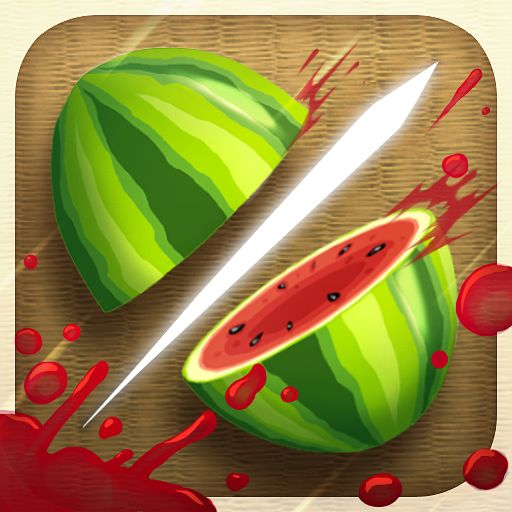 Fruit Ninja iPhone Front Cover