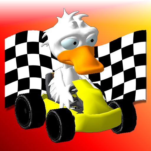 KartToon Rally iPhone Front Cover