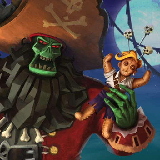 Monkey Island 2: LeChuck's Revenge - Special Edition iPad Front Cover