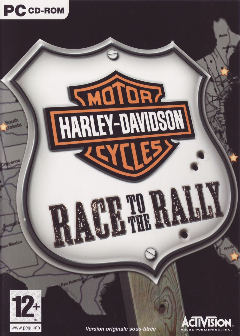 Harley-Davidson: Race to the Rally Windows Front Cover