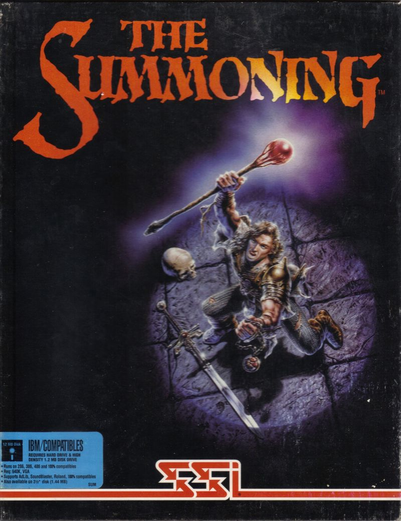 The Summoning DOS Front Cover