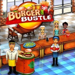Burger Bustle Windows Front Cover