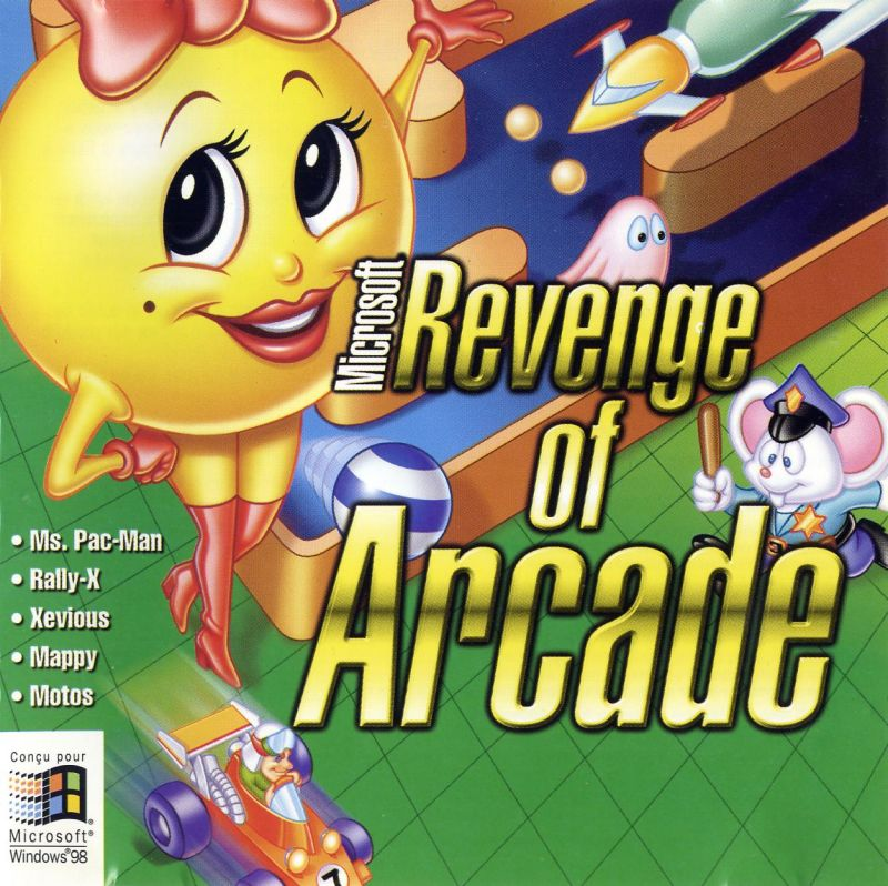 Microsoft Revenge of Arcade Windows Other Jewel case - front