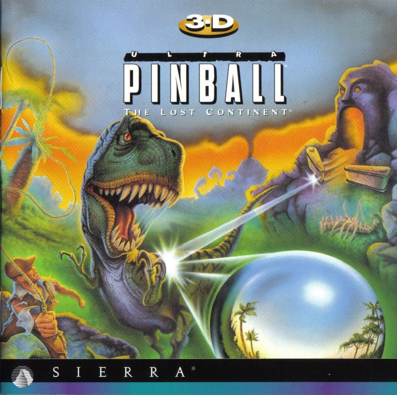 3-D Ultra Pinball: Power! Macintosh Other 3-D Ultra Pinball The Lost Continent Jewel Case : Front