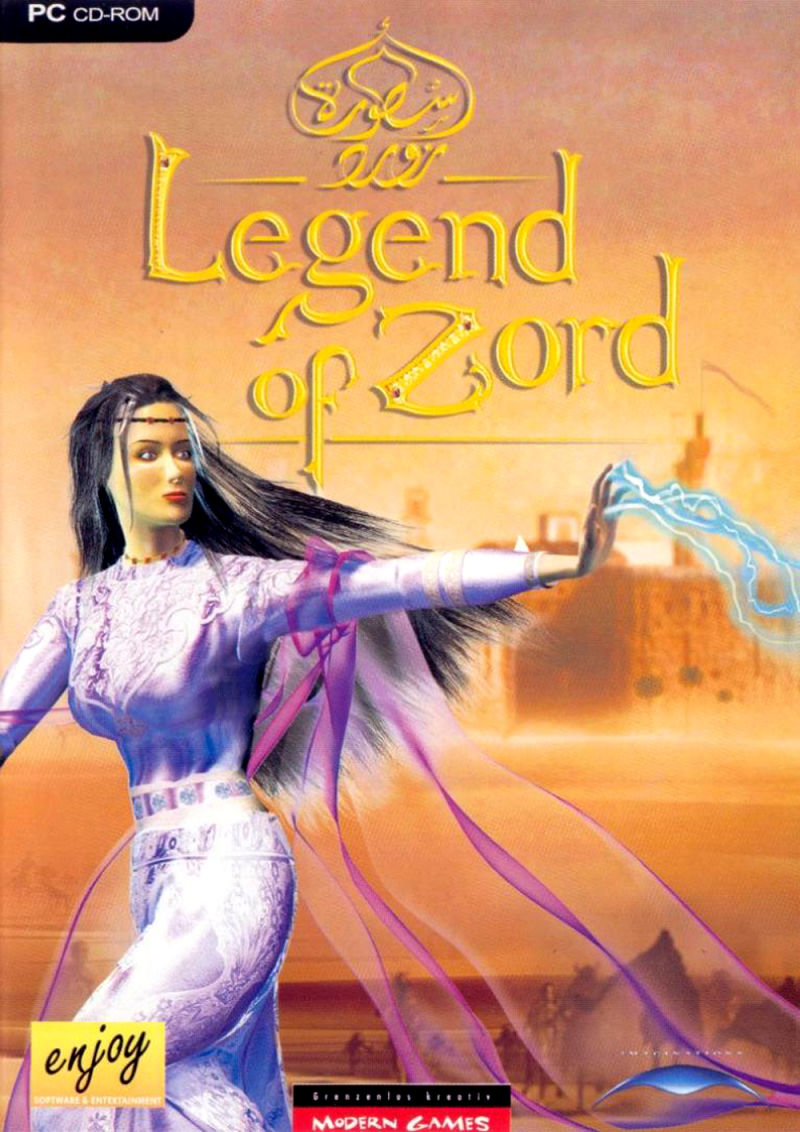 Legend of Zord Windows Front Cover