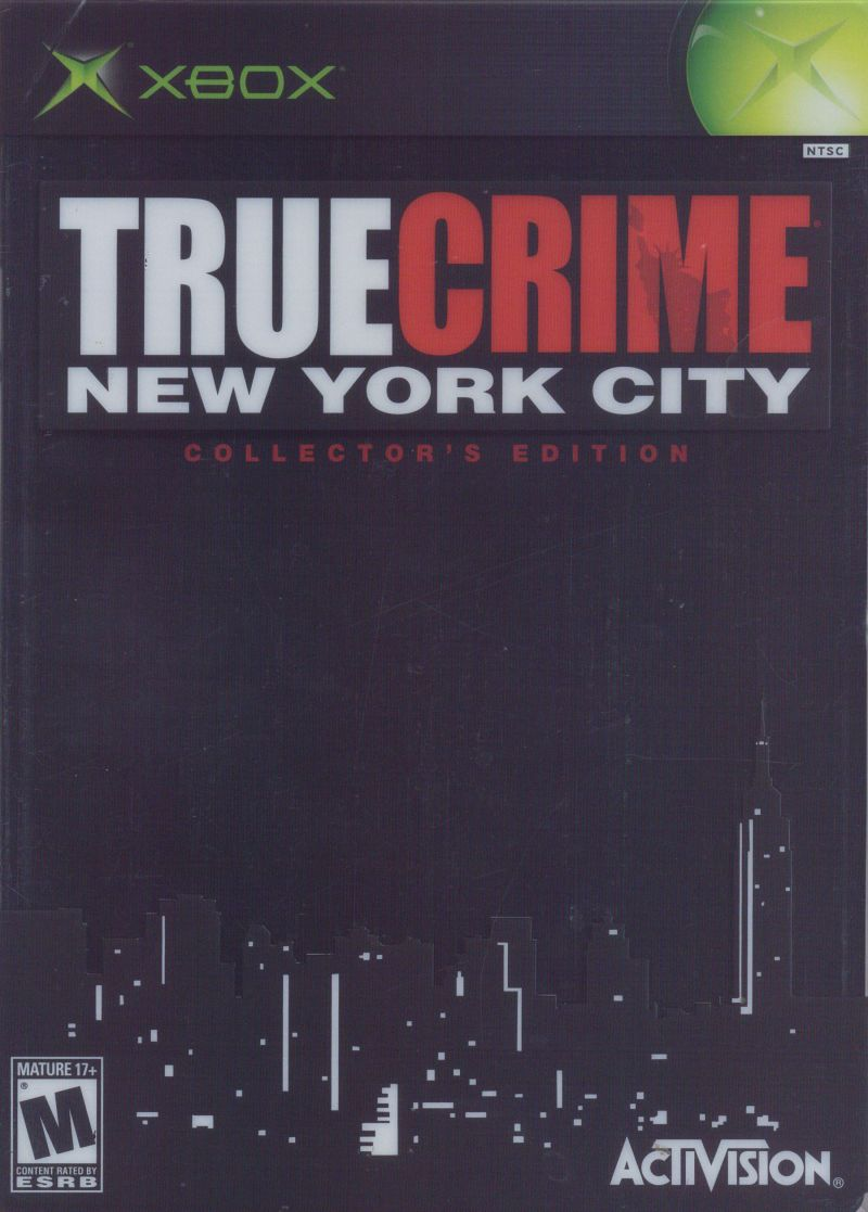 True Crime: New York City (Collector's Edition) Xbox Front Cover