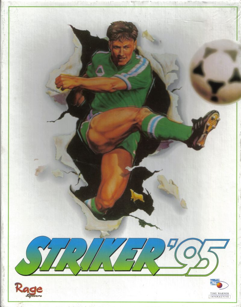 Striker '95 DOS Front Cover