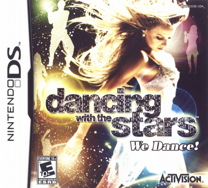 Dancing with the Stars: We Dance! Nintendo DS Front Cover