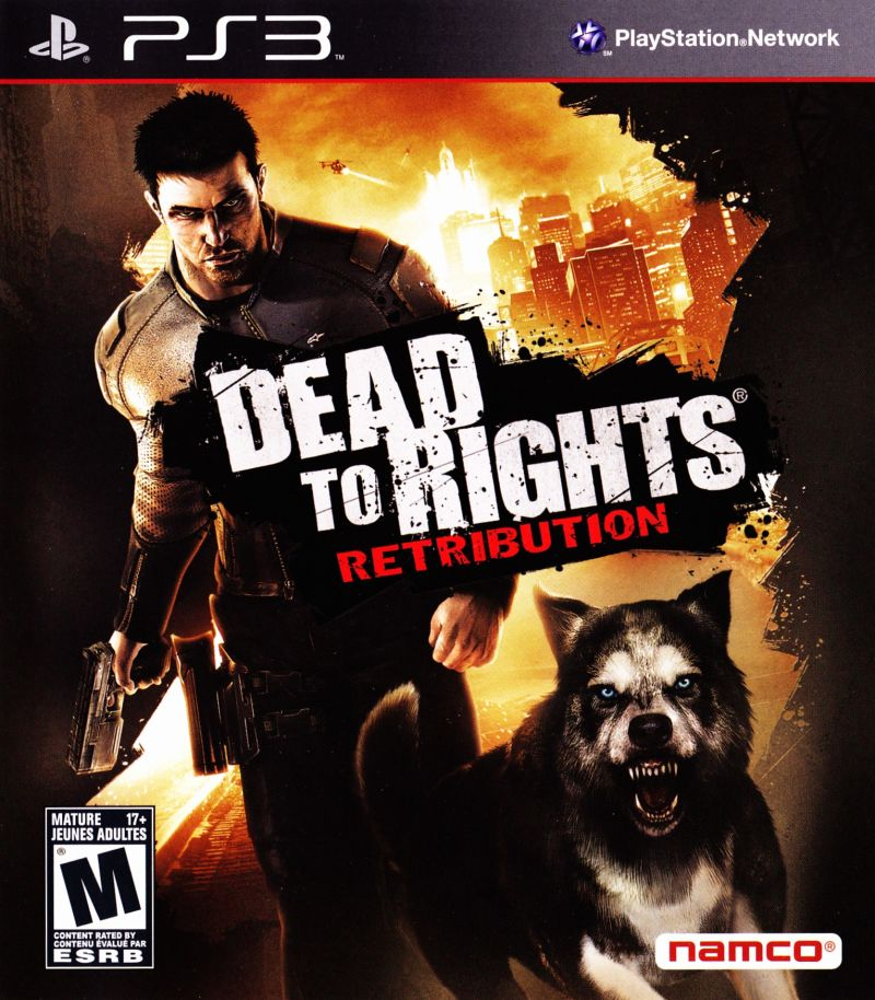 Dead to Rights: Retribution PlayStation 3 Front Cover