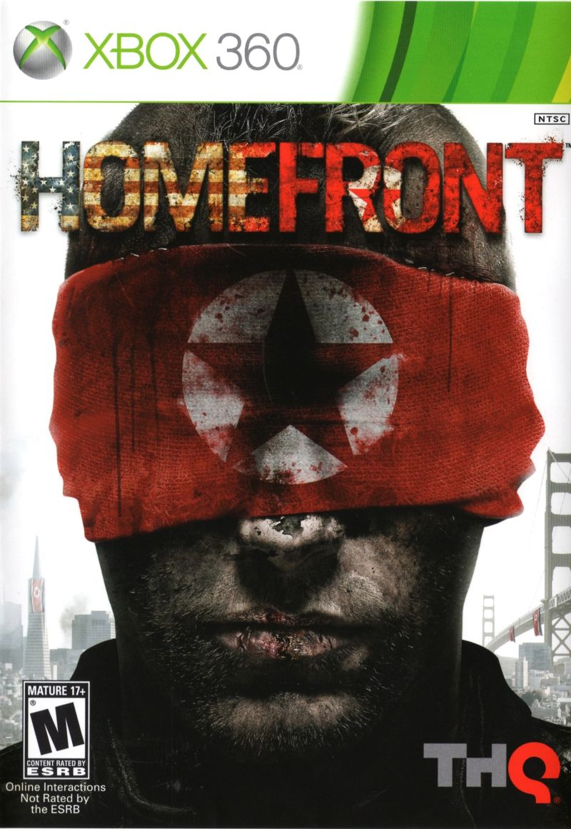 Homefront Xbox 360 Front Cover