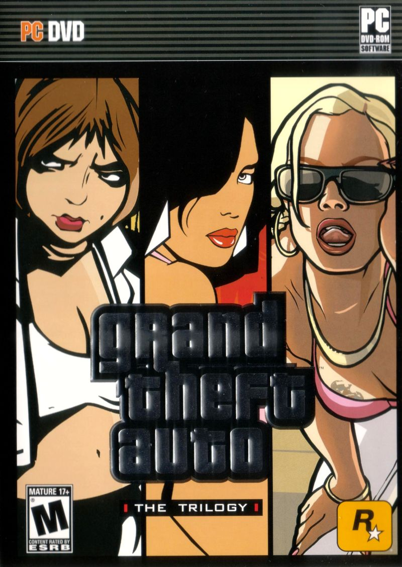 Grand Theft Auto: The Trilogy Windows Front Cover