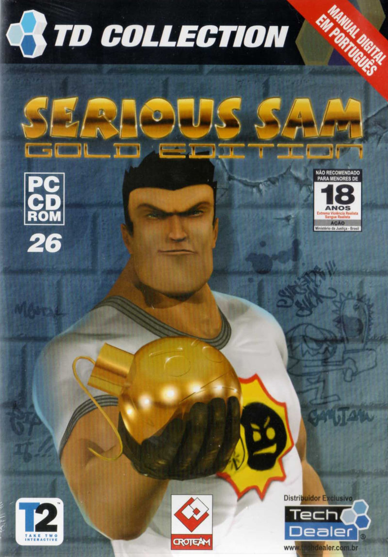 Serious Sam: Gold Windows Front Cover