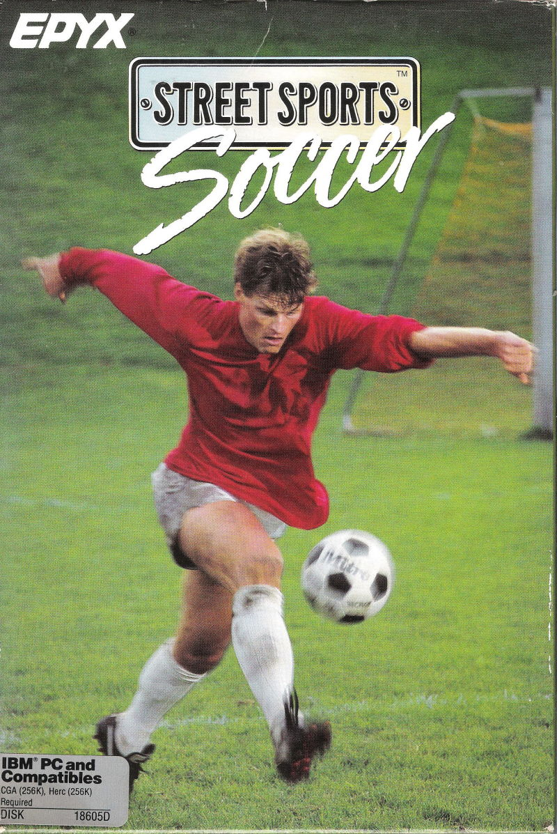 Street Sports Soccer DOS Front Cover
