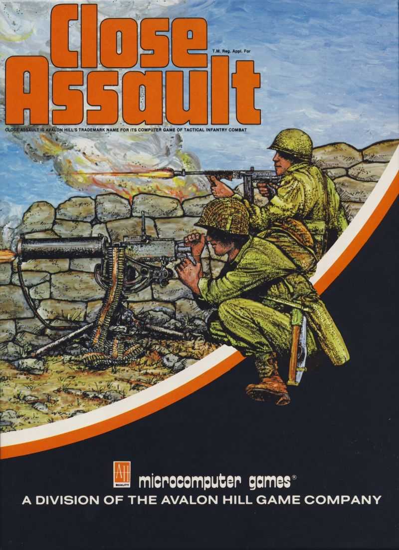 Close Assault Apple II Front Cover