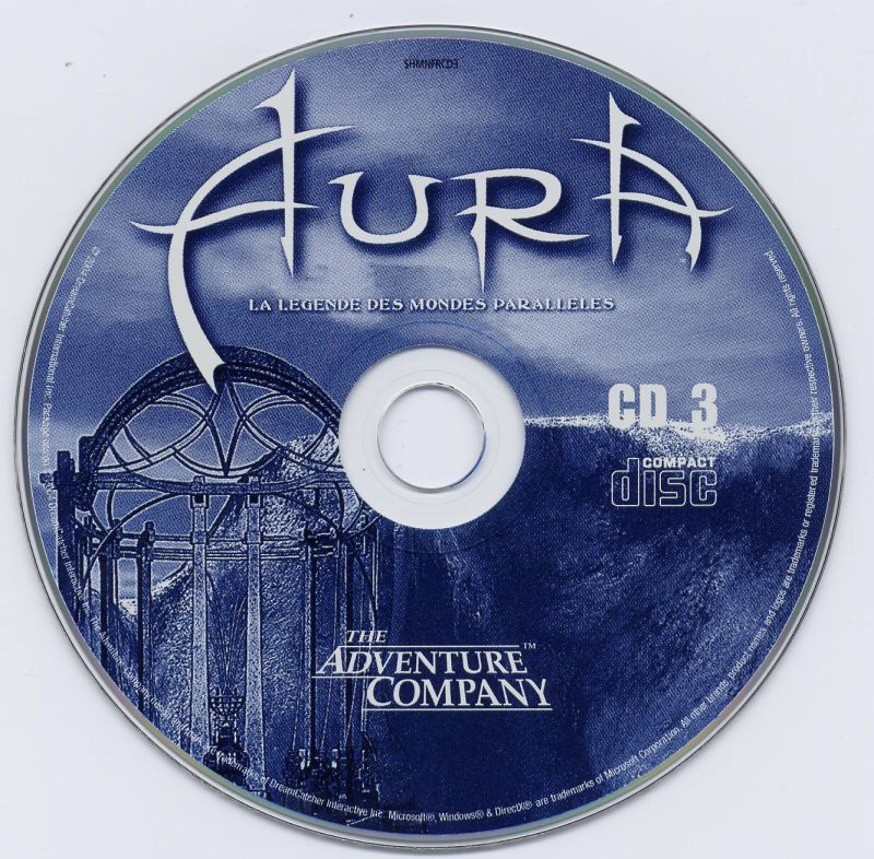 Aura: Fate of the Ages Windows Media Disc 3/3