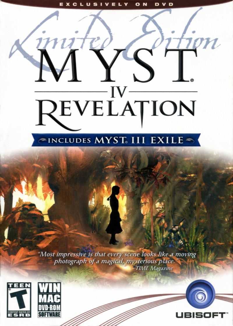 Myst IV: Revelation (Limited Edition) Macintosh Front Cover