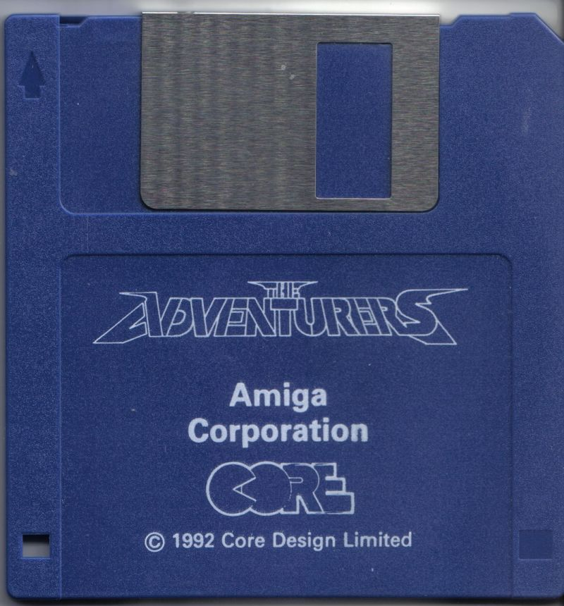 The Adventurers Amiga Media Corporation Disc 1 / 1
