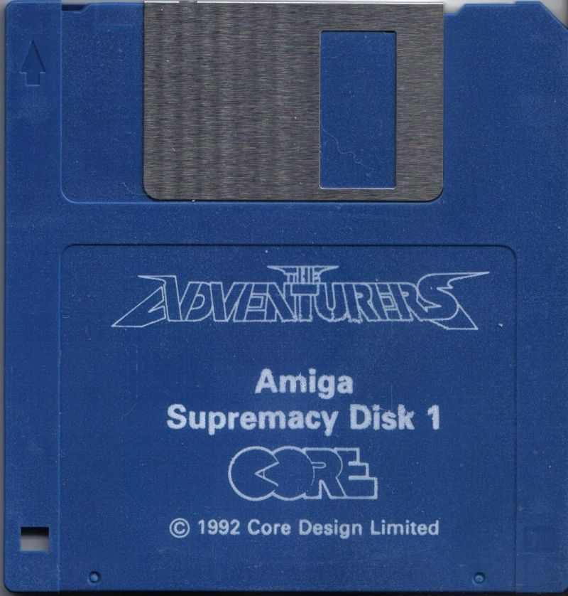 The Adventurers Amiga Media Supremacy Disc 1 / 2