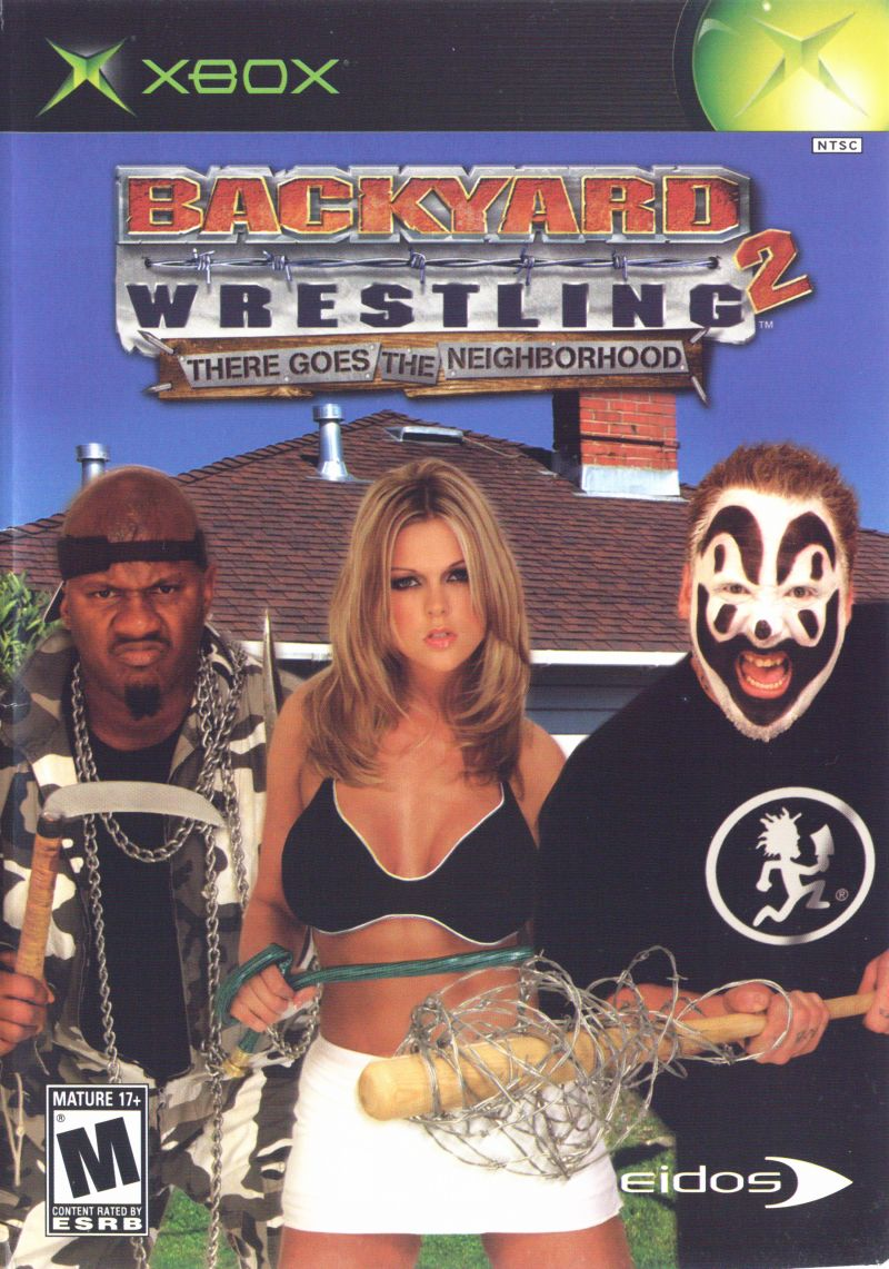 Backyard Wrestling 2: There Goes the Neighborhood Xbox Front Cover