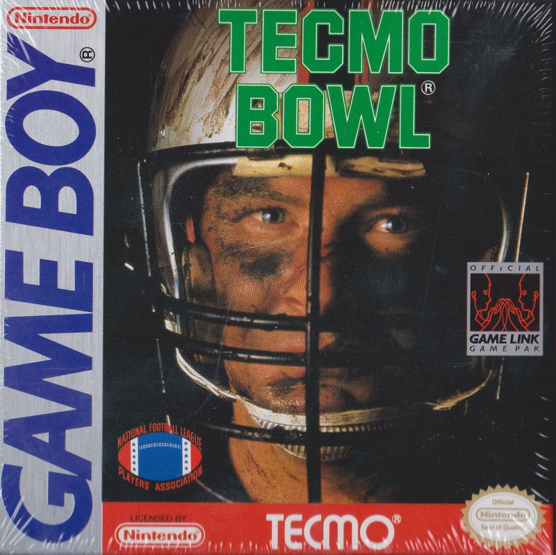 Tecmo Bowl Game Boy Front Cover