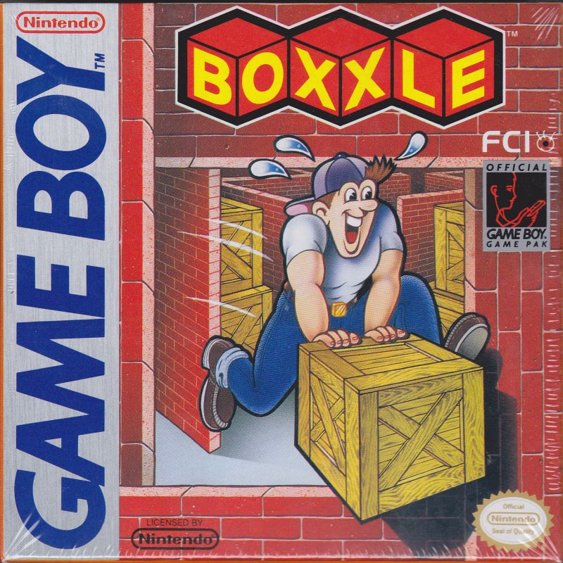 Boxxle Game Boy Front Cover