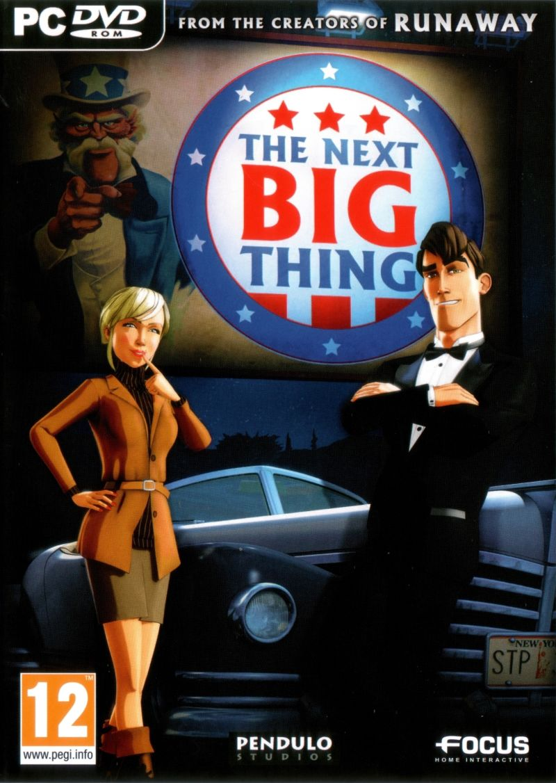 The Next Big Thing Windows Front Cover
