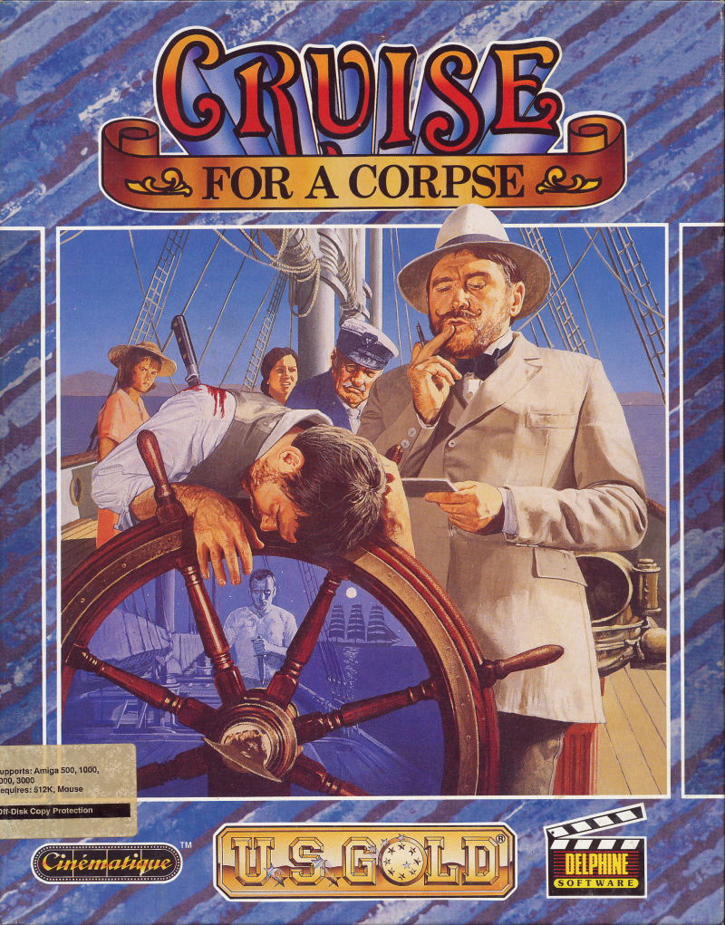 Cruise for a Corpse Amiga Front Cover