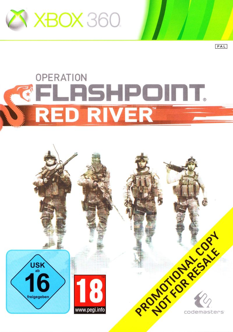 Operation Flashpoint: Red River Xbox 360 Front Cover
