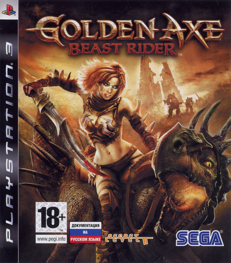 Golden Axe: Beast Rider PlayStation 3 Front Cover