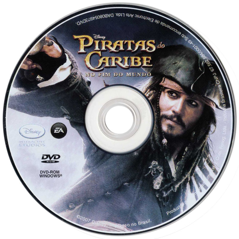 Disney Pirates of the Caribbean: At World's End Windows Media