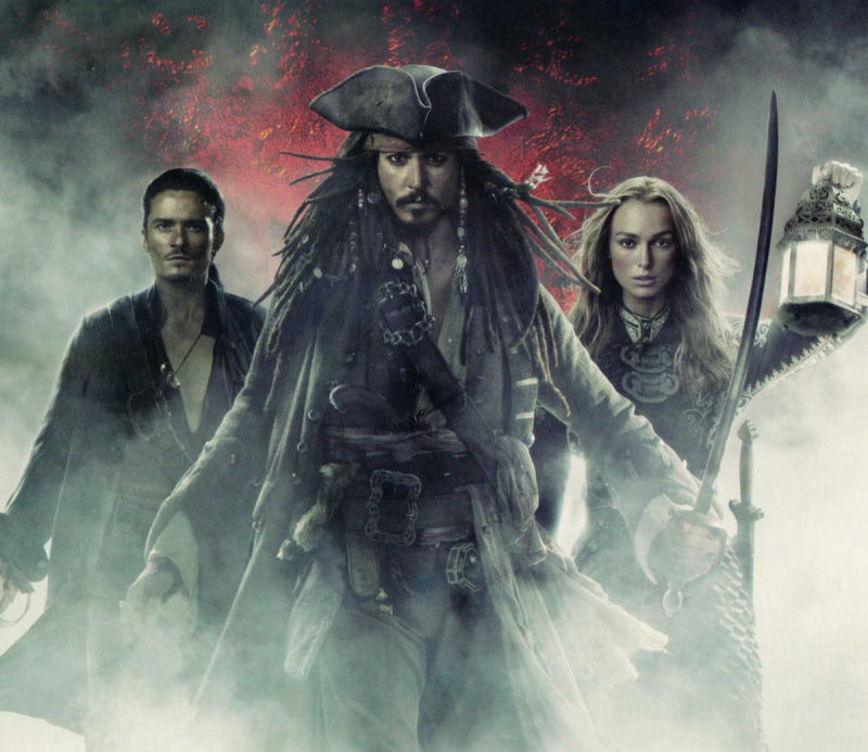 Disney Pirates of the Caribbean: At World's End Windows Other Sleeve - Inside Left