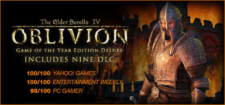 The Elder Scrolls IV: Oblivion (Game of the Year Edition Deluxe) Windows Front Cover