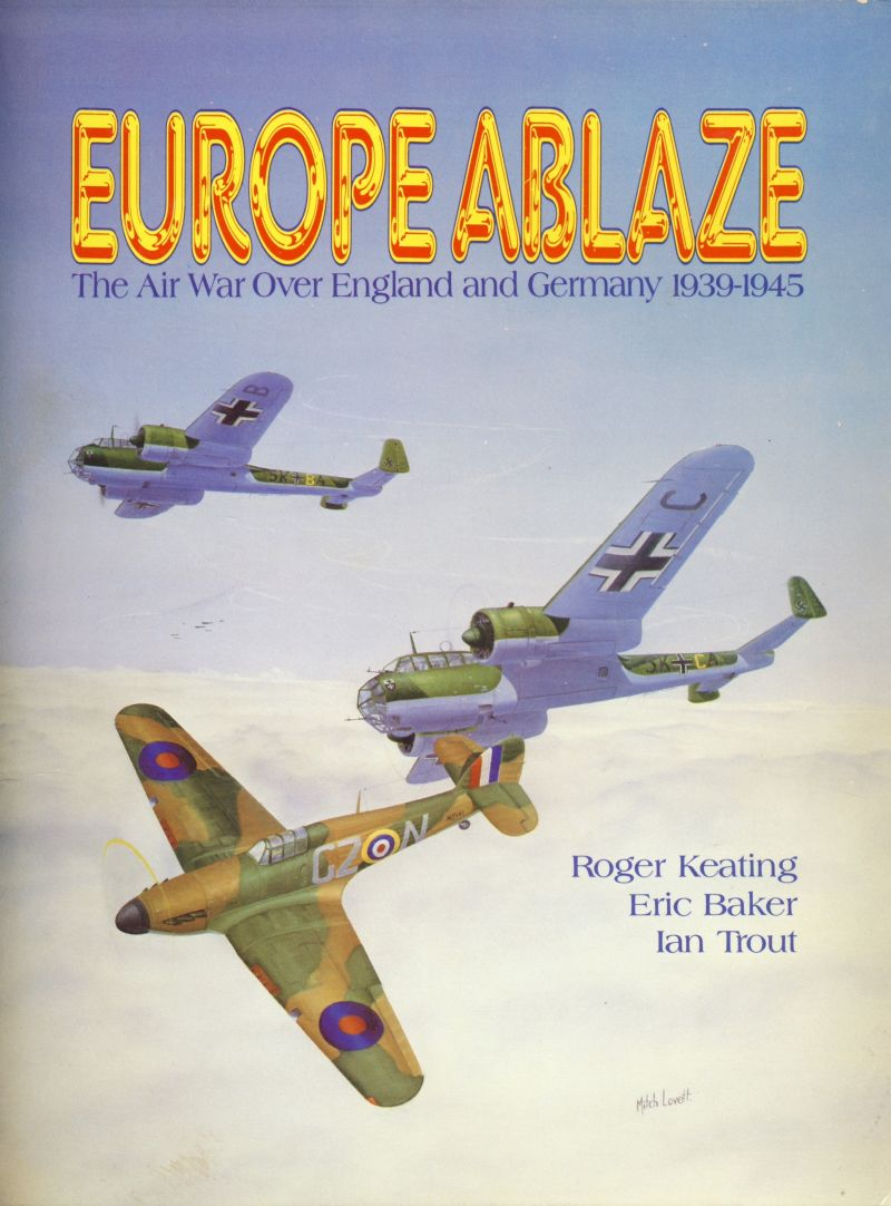 Europe Ablaze Commodore 64 Front Cover